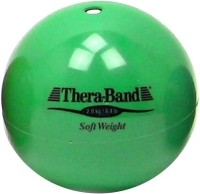 Thera-Band Soft Weight Gym Ball(Pack of 1, Green)