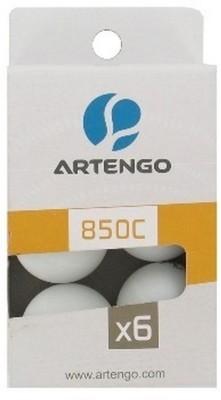 Artengo 850 C2 X6 Ping Pong Ball -   Size: 4,  Diameter: 4 cm