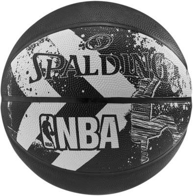 Spalding Alley - Oop Basketball - Size- 7, Diameter- 25 cm
