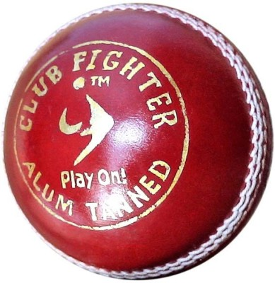 SM Club Fighter Cricket Ball -   Size: 5,  Diameter: 2.5 cm