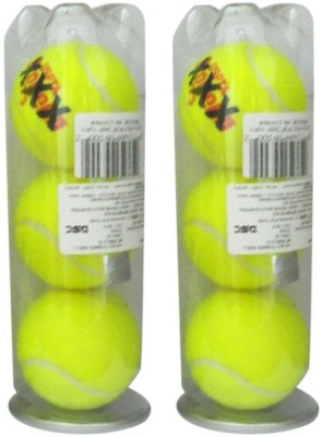 Head XXX Tennis Balls Tennis Ball -   Size: 7,  Diameter: 6.7 cm(Pack of 12, Yellow)