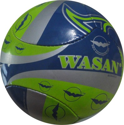 Wasan Monarch Football - Size: 5, Diameter: 2.5 cm(Pack of 1, Blue)