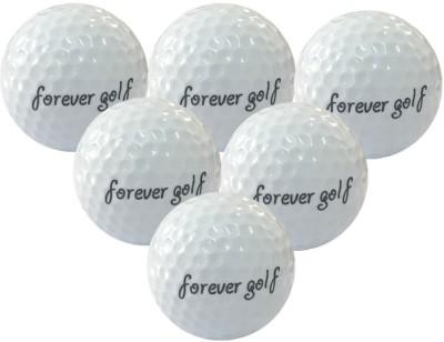 Meded Forever Golf Driving Range Golf Ball - Size: 4, Diameter: 4.26 cm(Pack of 6, White)