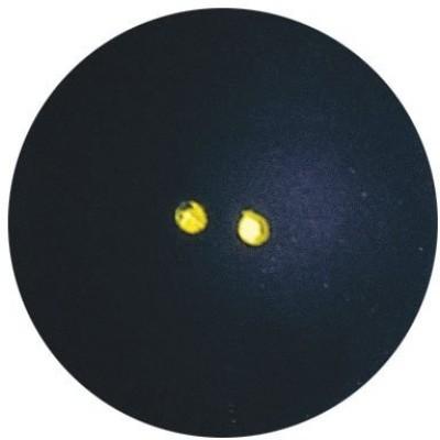 Dunlop Pro Double Dot Squash Ball Squash Ball - Size- 5, Diameter- 4.05 cm(Pack of 1, Black)
