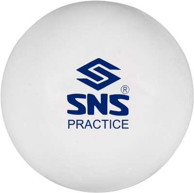 SNS PRACTICE SMOOTH Hockey Ball - Size: NA, Diameter: 7.2 cm(Pack of 6, White)