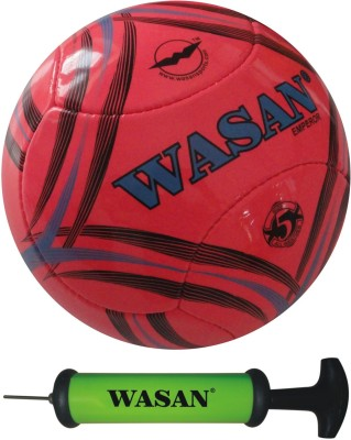 Wasan Emperor With Free Pump Football - Size: 5, Diameter: 70 cm(Pack of 1, Pink)