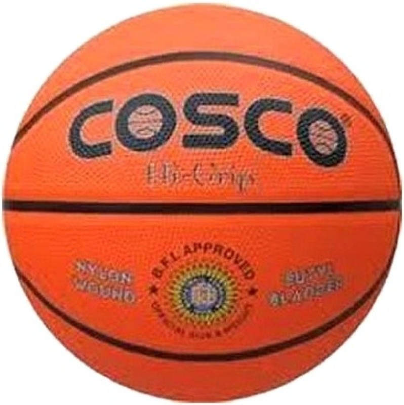 Cosco Hi-Grip Basketball -   Size: 5(Orange)