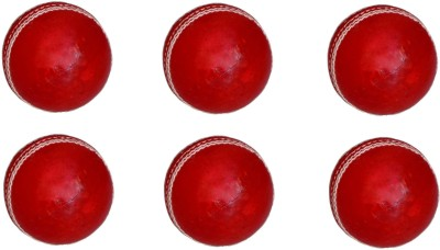 VSM Leather Four Piece Cricket Ball - Size- 3, Diameter- 2.5 cm