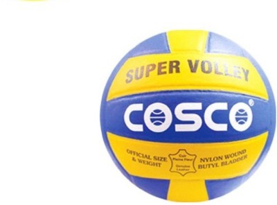 Cosco Super Volleyball - Size- 4, Diameter- 20.7 cm