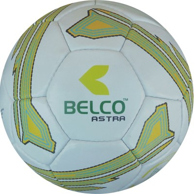 Belco Astra 2 Football - Size: 5, Diameter: 22 cm(Pack of 1, Black, White, Yellow)