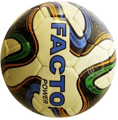 Facto Power TRI Color Football -   Size: 5,  Diameter: 25 cm