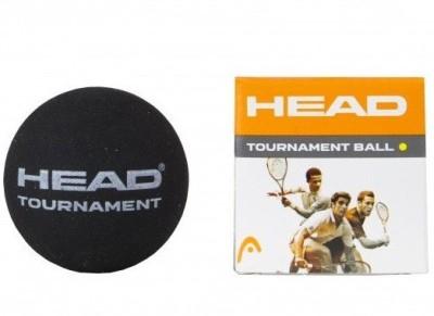 Head Tournament Single Dot Squash Ball -   Size: 4,  Diameter: 4 cm
