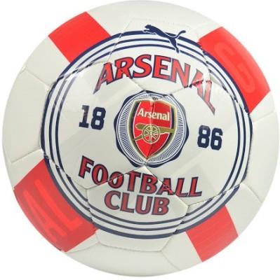 Puma Arsenal Club Crest Football -   Size: 5,  Diameter: 22 cm