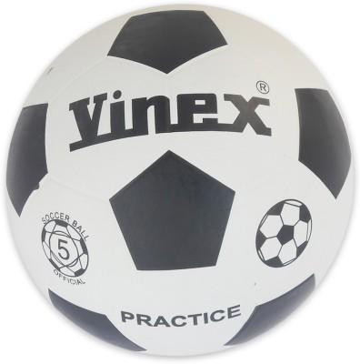 Vinex Rubber Football -   Size: 5,  Diameter: 21.84 cm