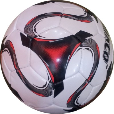 Hikco Red World Football -   Size: 5,  Diameter: 22 cm