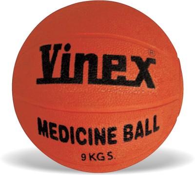 Vinex Rubber (9 Kg) Medicine Ball -   Size: 9,  Diameter: 31 cm