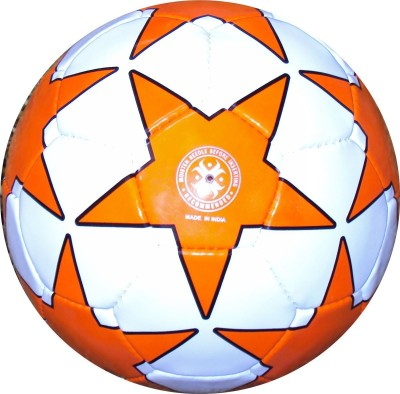 Hikco Star Orange Football -   Size: 5,  Diameter: 24 cm