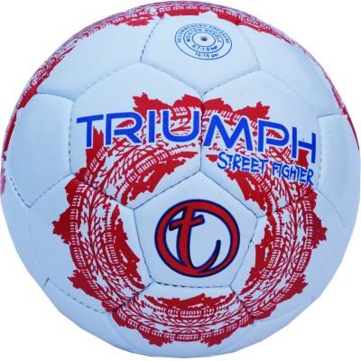 Triumph Street Fighter White Football -   Size: 5,  Diameter: 2.5 cm