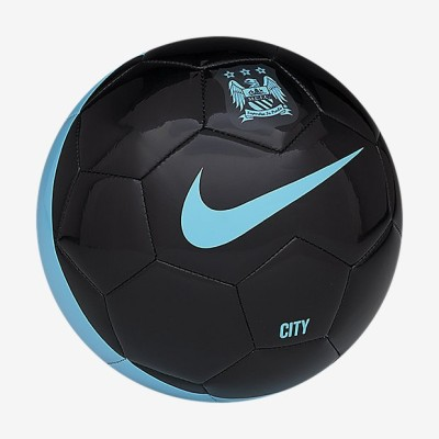 Nike Manchester City Football -   Size: 5,  Diameter: 9.5 cm(Pack of 1, Black, Blue)