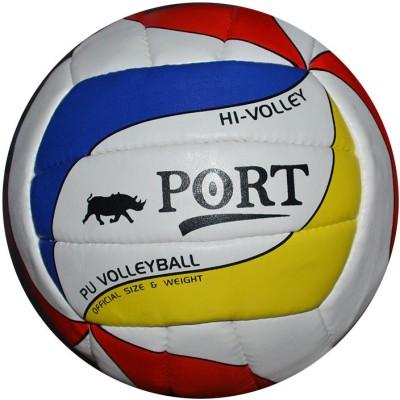 Port Hi-Volley Volleyball -   Size: 5,  Diameter: 22 cm