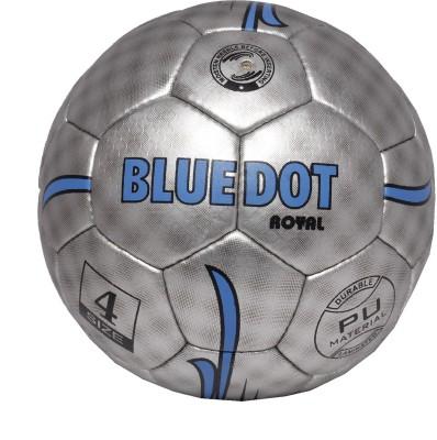 Blue Dot Royale Football -   Size: 4,  Diameter: 21 cm