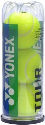 Yonex Tour Pack of 3 Tennis Ball -   Size: 5,  Diameter: 6.54 cm