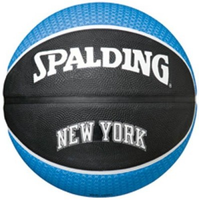 Spalding New York Kicks Basketball - Size- 7, Diameter- 29.5 cm(Pack of 1, Multicolor)