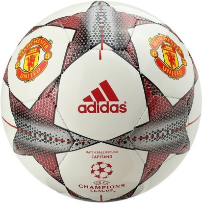 Adidas Manchester United Capitano UEFA Champions League Football -   Size: 5,  Diameter: 22.5 cm