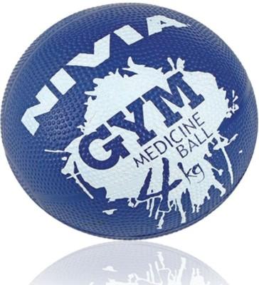 Nivia Sports Medicine Ball -   Size: 4,  Diameter: 2.5 cm