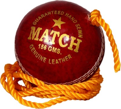 Priya Sports Practice-Red Cricket Ball -   Size: Standard,  Diameter: 7 cm(Pack of 1, Red)
