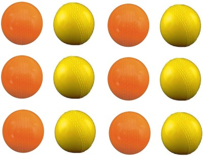 Vani Sports Ping Pong Dhamkaa Rubber Ball -   Size: 2,  Diameter: 2.5 cm(Pack of 12, Multicolor)