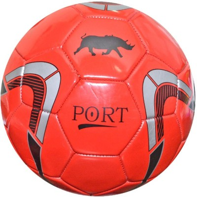 Parbat Port Worldcup Red Football -   Size: 5,  Diameter: 24 cm