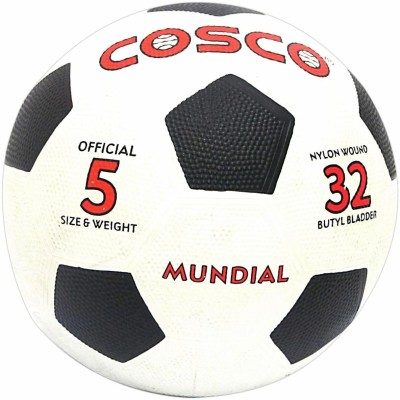 Cosco Mundial Football -   Size: 5,  Diameter: 22 cm