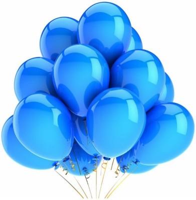 PartyballoonsHK Solid Metallic Blue (Pack of 50) Balloon