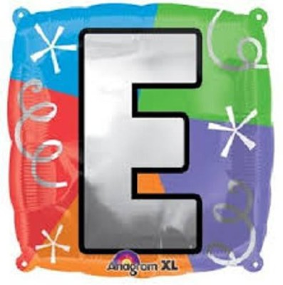 Party Fabs Printed quad letter L Balloon