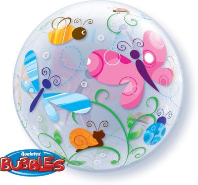 Party Fabs Printed B53013 Bubble Balloon