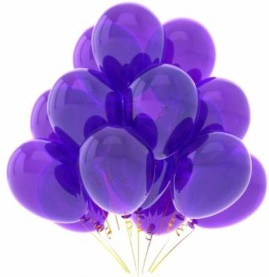 PartyballoonsHK Solid Metallic Purple (Pack of 50) Balloon