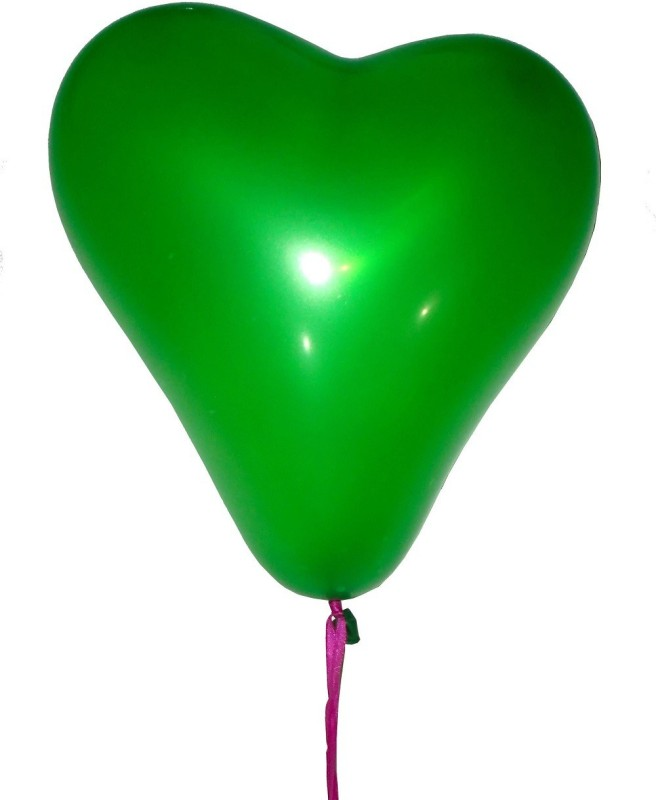 GrandShop Solid 50269 Balloon(Green, Pack of 30)