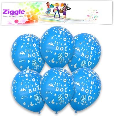 Ziggle Printed ISTBDAY Balloon