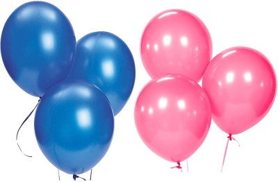 Ziggle Solid Balloon Metallic Balloon