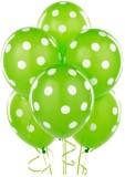 Kosh Printed Polka Dots Balloon (Green, ...