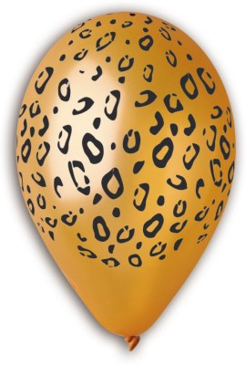 Bubbly Printed Leopard Spots Balloon