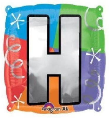 party fabs Printed letter H Balloon