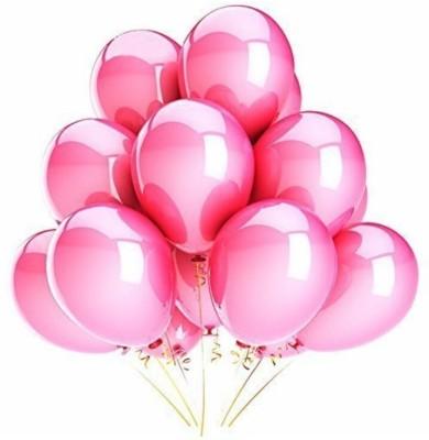 PartyballoonsHK Solid Metallic Pink ( Pack of 50) Balloon