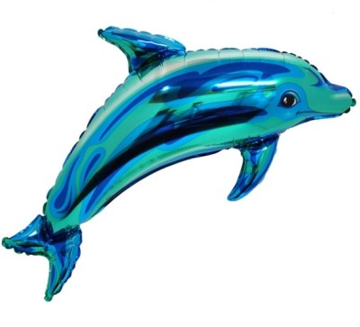 Party Fabs Printed Dolphin Balloon