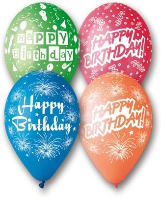 Bubbly Printed Birthday Balloon