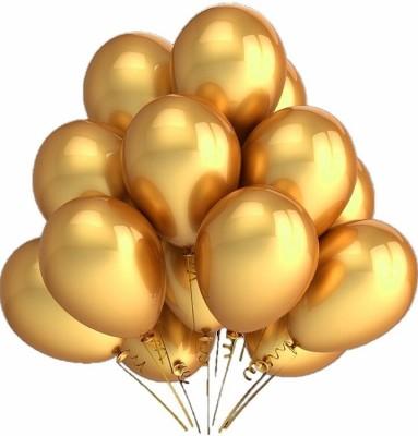 PartyballoonsHK Solid Metallic Gold Balloon