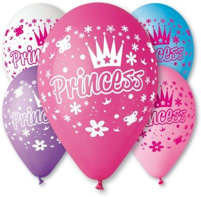 Bubbly Printed Princess Balloon