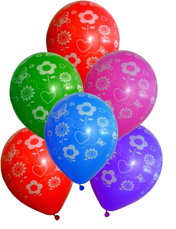 GrandShop Printed GS50382 Balloon(Multicolor, Pack of 30)