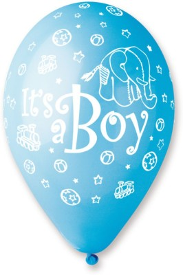 Bubbly Printed It is a Boy Balloon